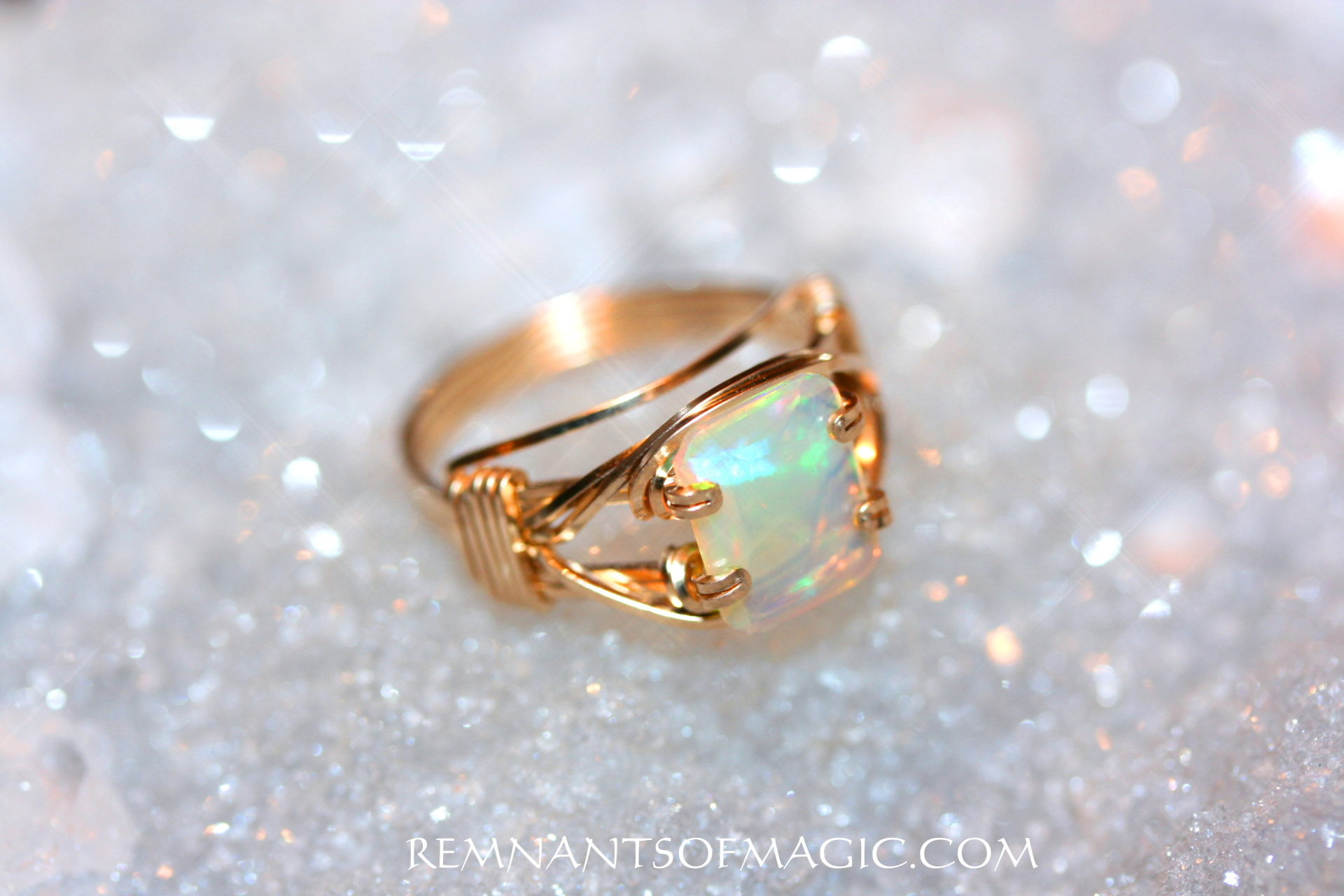 Wire Wrapped Rings - Remnants of Magic